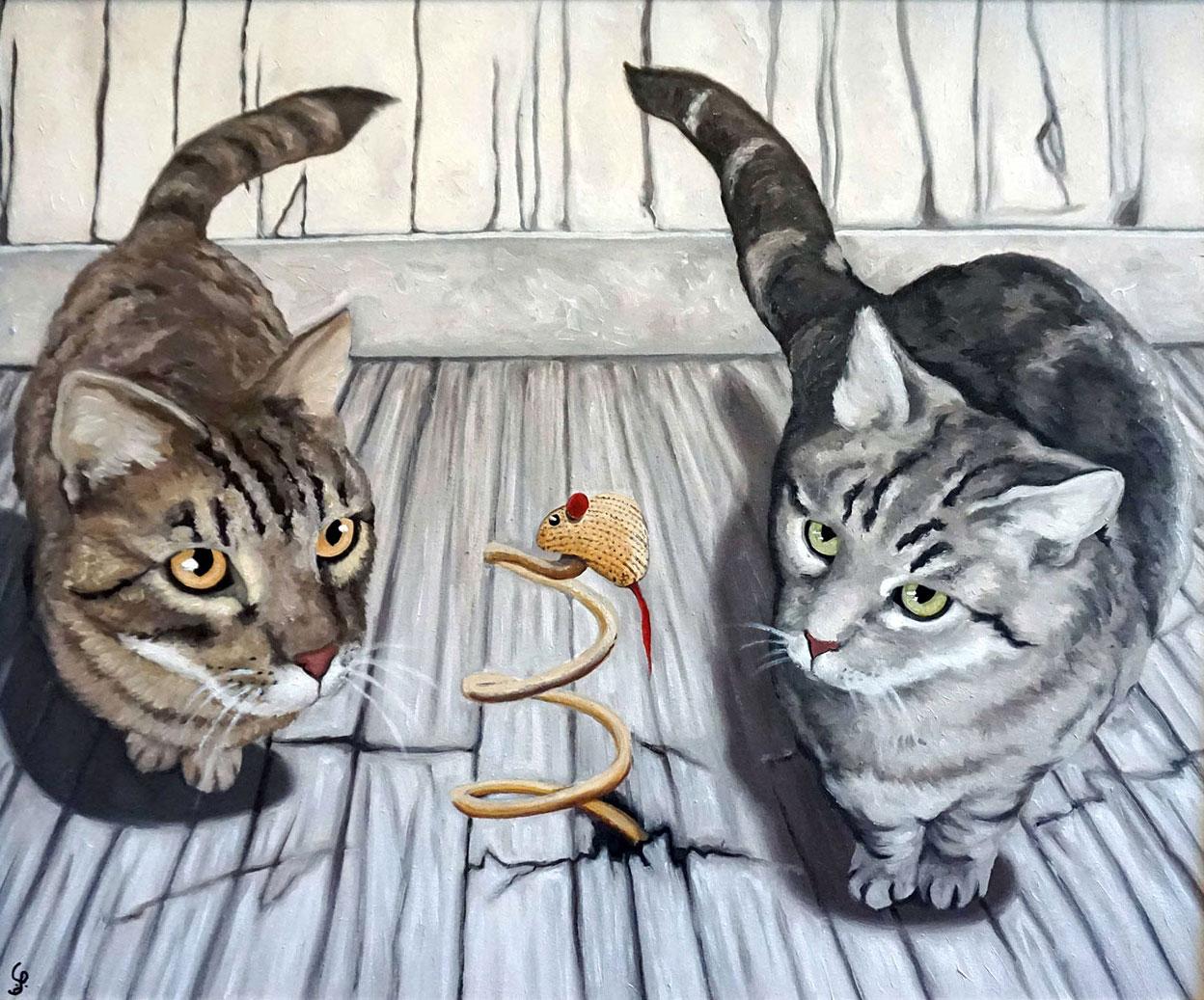 ritratti di gatti