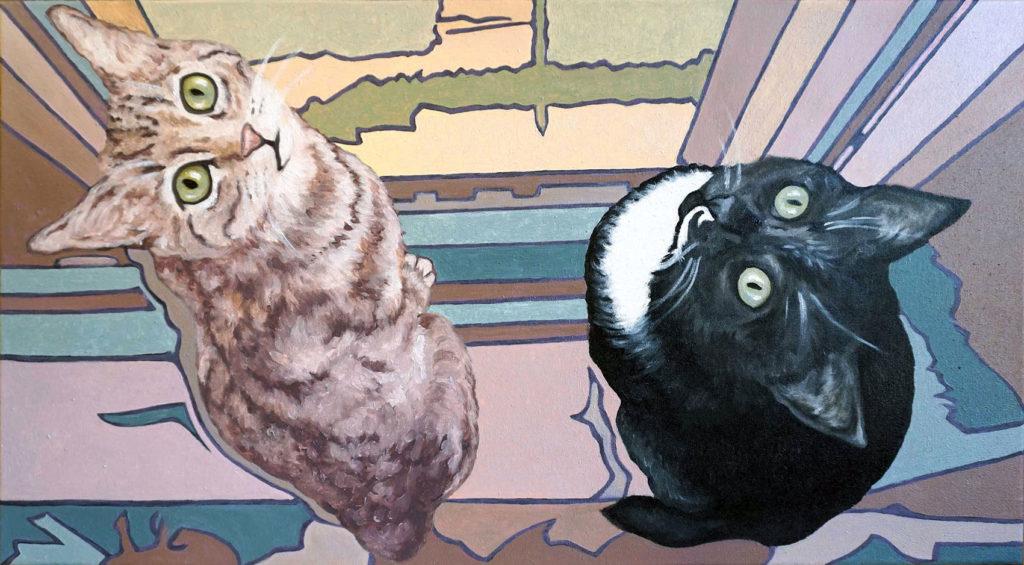 Ritratto gatti